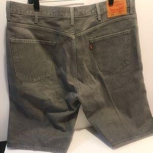 Levi's 569 mans jeans shorts